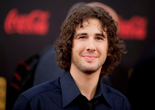 Josh groban facial hair