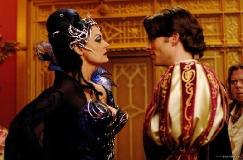 Královna a princ Edward