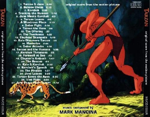 Soundtrack - Tarzan Walta Disneye