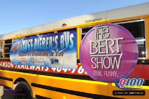 Justin Bieber bus