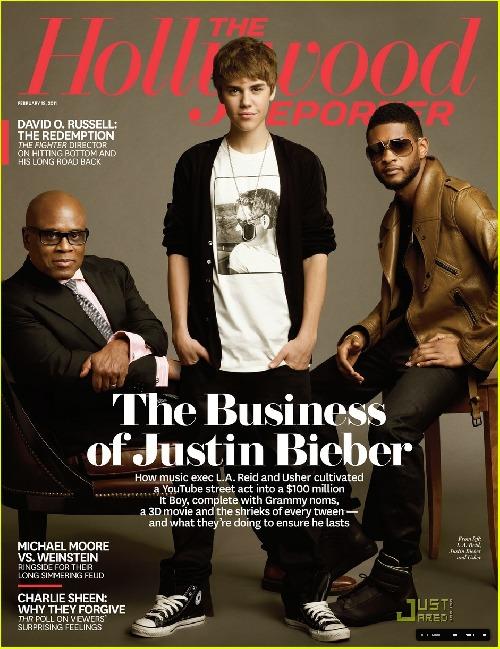 Justin s LA Reid a Usherem