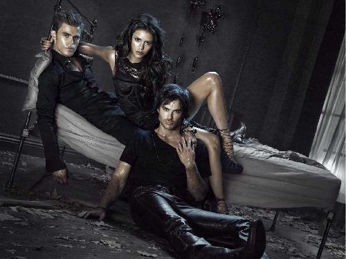 Stefan and Elena, Damon
