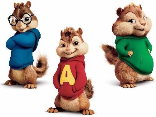 Alvin,Siemon,Theodor