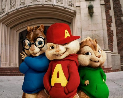 Soundtrack - Alvin a Chipmunkové