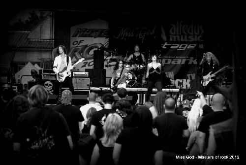 Miss God na Masters of Rock 2012