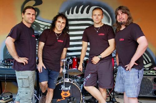 Zleva: Ivan Chudoba, Petr Řezníček, Jakub Mareš, Zdeněk Drliczek