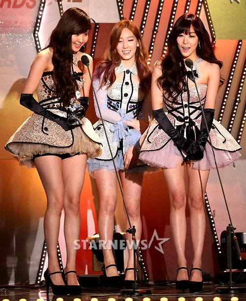 Girls' Generation TTS wins Best Artist Award for the month of May in 2