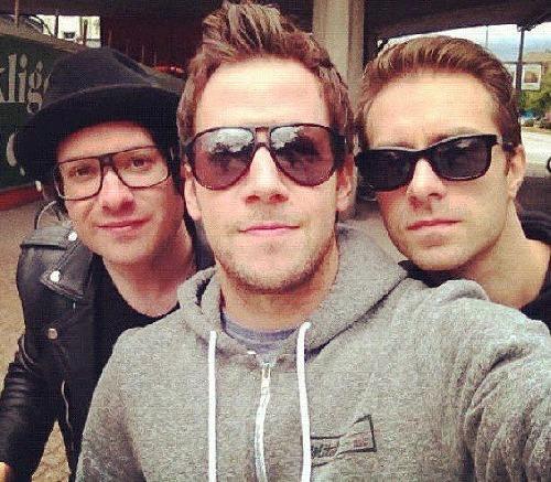 (zleva) Dave,Pierre,Seb :)