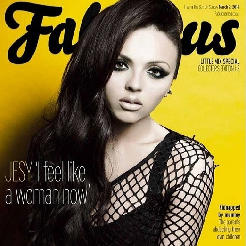 Little Mix Fabulous Magazine