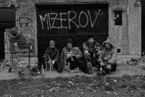 Členové kapely, debutové album Mizerov