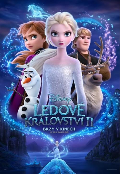 Ledové království II - plakát